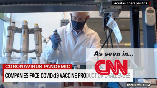 CNN: Critical component for Covid-19 vaccines is in short supply