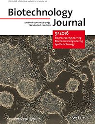 Cover Picture: Biotechnology Journal 9/2016