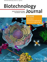 Cover Picture: Biotechnology Journal 8/2016
