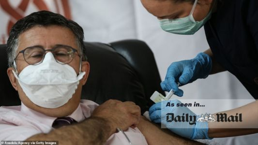 Daily Mail: Suppliers of vaccine materials do not have capacity