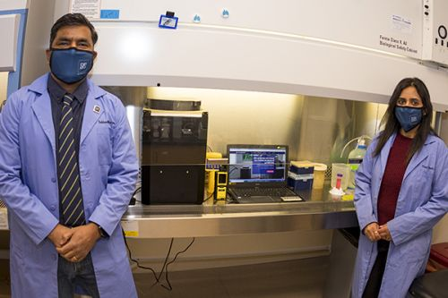 Scientists Analyze Dry-Sanitizing Device for Reusable PPE